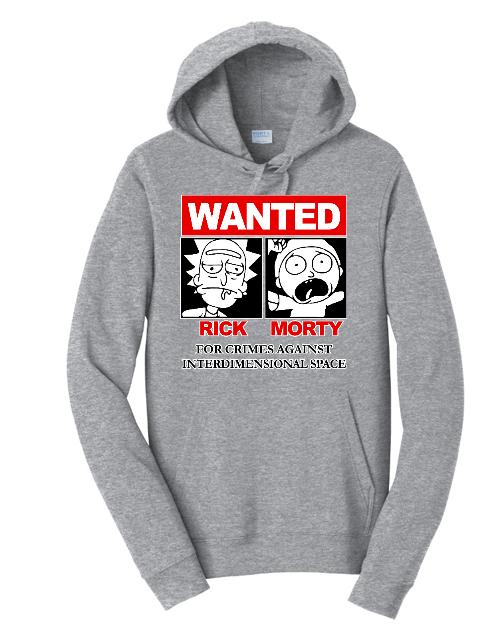 Rick & Morty Sweatshirt Hoodie